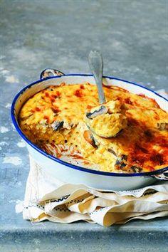 Larousse Cuisine - Gratin de macaronis à la milanaise