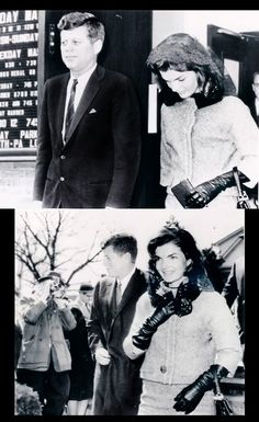 jimmypage:      President John F. Kennedy and First Lady Jackie Kennedy attend a Sunday morning Mass, 1962.