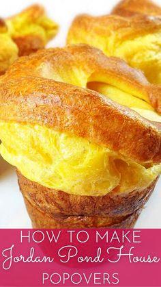 Yorkshire Pudding Recipes, Popover Recipe, Dessert Bread, Artisan Bread, Churros, Brunch Recipes, Crockpot, Slow Cooker, Cooking Recipes
