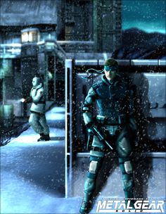 Metal Gear Solid Solid Snake- Infiltration of Shadow Moses Facility.