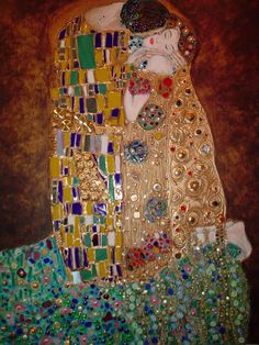 The Kiss - Gustav Klimt. Bella's first fav painting. We have videos of her as a newborn cooing at it. The Joy Of Painting, Beauty In Art, Paintings I Love, Art Object, Art Projects, Project Ideas, Artsy Fartsy, Art Pieces, Art Gallery