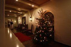 Christbaum im Seehaus, Riessersee Hotel Resort, Garmisch-Partenkirchen, Bayern - http://www.riessersee.com/