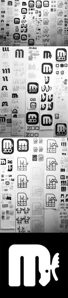 Minnesota Zoo Logo Sketches