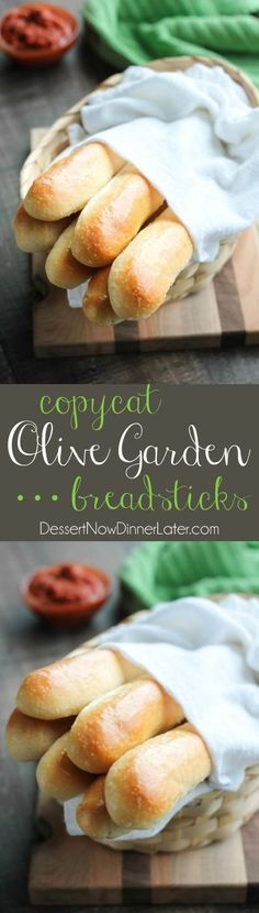 This copycat Olive Garden Breadsticks recipe tastes just like the restaurant and can be easily made at home.