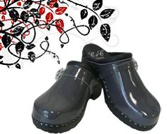 Clogs by C&C SWEDEN Handcrafted  Outgraygeous