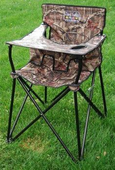 camo high chair for travel