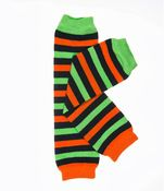 Halloween Striped Leg Warmers $7 ! Legwarmers for Children - Yummy Mummy Emporium