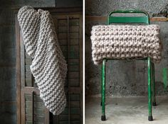 We've covered wool camp blankets, heavy bed blankets, summer cotton blankets, and military blankets. Yes, we like blankets, but we have yet to explore one of the most inviting categories: chunky knit and woven throws that you can fully cocoon in.