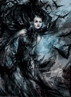 Funestes et Sombres Envols | L'Antre de Morrigan - (c) Clovery