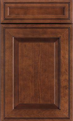 waypoint living spaces cabinet door style 760 in cherry chocolate glaze