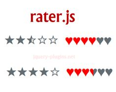 Rater.js – Customizable Rating Widget with jQuery #rating #starrating #jQuery #jQueryrating