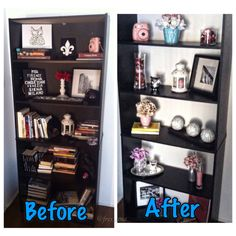 Decided to revamp my bookshelf for Spring time and this is how it turned out :)