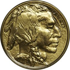 """Certified American Buffalo 1 Oz Gold Coin   """"Certified American Buffalo 1 Oz Gold Bullion Coin.  Details:   Gold Content: 1 troy oz. (31.108 g)  Gross Weight:1 oz. (31.103g)  Composition:99.99%     Gold  Coin Diameter:1.287 inches (32.70mm)  Thickness: 0.116 in. ( 2.95mm)  Mint Dates: 2006 – till date"""""""