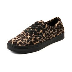 vans authentic leopard print women's sneaker