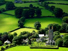 Widecombe-in-the-moor, Dartmoor, England  ...no wonder they fought over this for centuries.  It's absolutely beautiful.