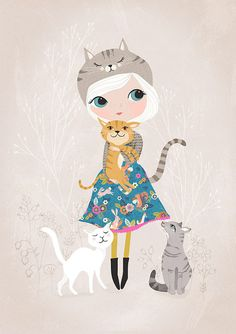 Fresh Baked Friday - Meet Rebecca Jones, Whimsical Art Prints and ...