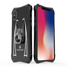 Super hero cloak batman theme metal frame fashion cover case for Apple iPhone X XR XS Max with personalized finger ring stand Accessories Store, Phone Accessories, Iphone Phone Cases, Iphone 6, Latest Iphone, Ring Stand, Apple Products, Ring Finger, Apple Iphone