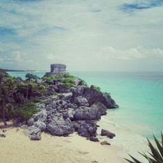 Mayan ruins, Tulum Mexico