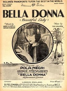 Bella Donna - Pola Negri