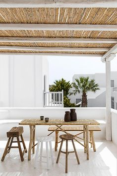 Landscaping Software - Offering Early View of Completed Project Current Crush: Primitive Wooden Furniture - 79 Ideas Banquito Para El Estudio Primitive Homes, Outdoor Spaces, Outdoor Living, Outdoor Decor, Nachhaltiges Design, House Design, Slow Design, Rustic Design, Home Living