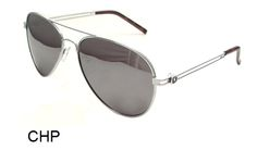 KHAN Chopper Metal Aviator Sunglasses