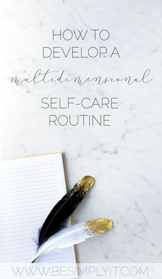 Self-care requires more than just a hot bath now and again. You need a routine that takes care of your whole self beyond your physical being. Self-care is all about making you a wholesome person open for growth!