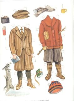 Brooke and Buddy of the 1920s Paper Dolls (6 of 16) by Evelyn Gathings, Dover Publications, 2000