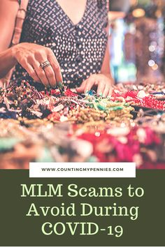 Coronavirus scams are all over the place. Avoid these MLM scams during the outbreak. Pennies, Counting, The Cure, How To Make Money, Things To Sell