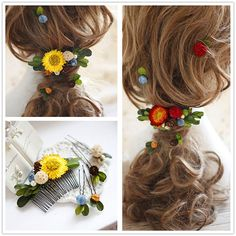 Buy Neostar Floral Hair Comb at YesStyle.com! Quality products at remarkable prices. FREE Worldwide Shipping available!