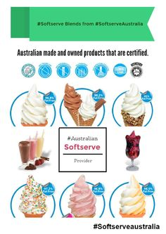 """The #softserve flavours and blends from the Australian manufacturer - #SoftserveAustralia. Know all about them through their official pages.     """"softserve"""", soft serve machine, soft serve Australia, """"soft serve deals"""", """"ice cream machine"""", """"best soft serve ice cream store""""    http://issuu.com/softservemachine/docs/blends_from_soft_serve_machine_aust?utm_source=pinterest&utm_medium=organic&utm_term=softservemachine&utm_content=softservemachine&utm_campaign=04032015"""