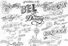 Creative Typography, Dreams, Stars, Love, and Fonts image ideas & inspiration on Designspiration Alphabet Letters Images, Graffiti Alphabet, Graffiti Lettering, Different Lettering, Types Of Lettering, Lettering Styles, Typography Images, Creative Typography, Typography Letters