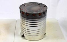 Homemade Alcohol Stove – Copyright Your Family Ark LLC Wood Gas Stove, Homemade Alcohol, Survival Skills, Health And Safety, Ark, Canning, Create, Home Canning, Conservation