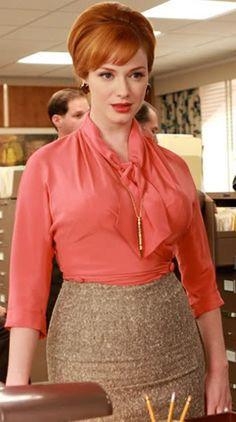 joan holloway-another voluptuous ginger ;)