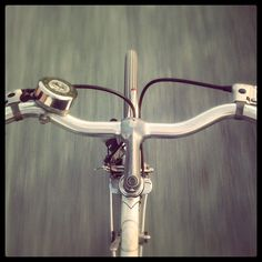 nothing like a bike to make your car less fun! I love cycling...cyclepathic tendencies!