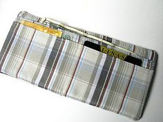 Old shirt wallet - I just did this!