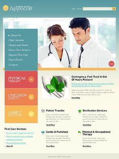 Hospital website design templates free download medical hospital.