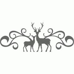 Silhouette Design Store - New Designs Reindeer Silhouette, Fairy Silhouette, Silhouette Vinyl, Animal Silhouette, Silhouette Projects, Silhouette Design, Glass Etching Stencils, Card Making Designs, How To Make Box