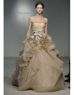 Vera Wang Spring 2012 Wedding Dress