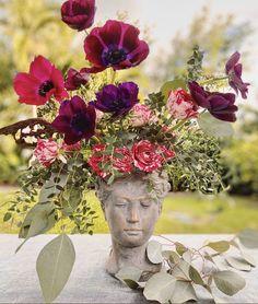 Flower Vases, Centerpieces, Floral Wreath, Bloom, Wreaths, Instagram, Unique, Decor, Flowers