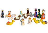 Crèche en bois tourné - La Boutique de l'Espérance - articles religieux