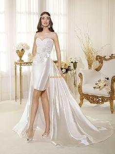 Chic & Modern Reißverschluss Natürlich Brautkleider 2014