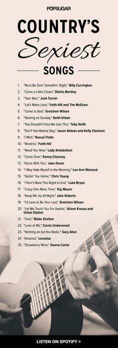 I'm not a country music fan...but I do like some of these. Minus a few, like Carrie and Faith I can do without.