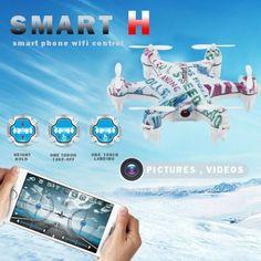 cx-37-smart-h-Mini-3d-Flying-6-assi-giroscopio-4-canali-24-GHz-Hold-Phone-WiFi-Control-Hexacopter-con-03-MP-FPV-Camera