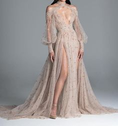 Paolo Sebastian fuses established style staples with a contemporary edge, creating unique handmade garments that infatuate those with a truly romantic heart. Evening Dresses, Prom Dresses, Formal Dresses, Tulle Gown, Fantasy Dress, Best Wedding Dresses, Couture Collection, Spring Collection, Beautiful Gowns