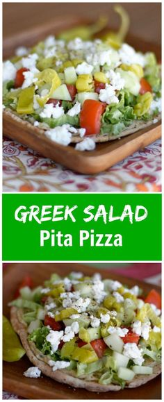 Greek Salad & Hummus