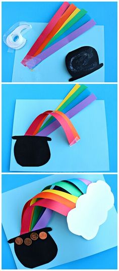 Over the Rainbow St. Patrick s day craft for kids to make! This is so  incredibly amazing! 7b26c38d30461