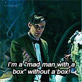 The 11th (click for gif) Doctor Who