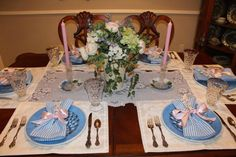 Tablescape Thursday: A Nod to Spring - Belle Bleu Interiors