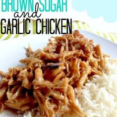 Crock Pot Brown Sugar and Garlic Chicken Recipe