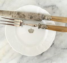 Vintage PARIS Cutlery Set / French Antiques / by OurParisApartment